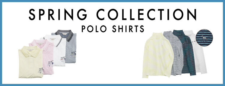 spring collection polo shirts