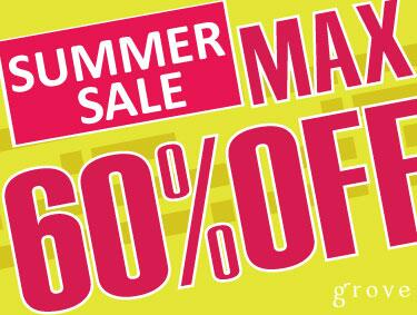 SUMMER SALE MAX60%OFF | grove(グローブ)