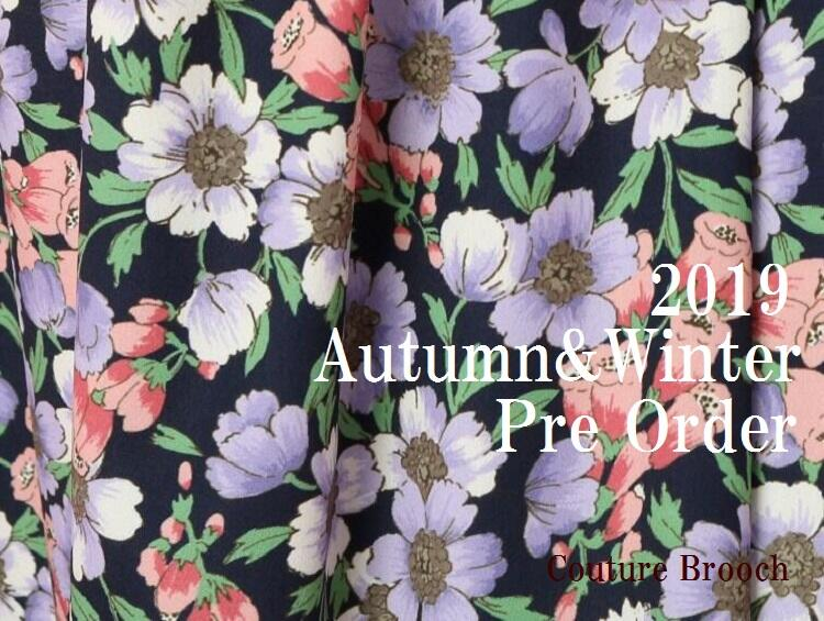 【PRE ORDER -2019Autumn&Winter-】 | Couture brooch(クチュールブローチ)
