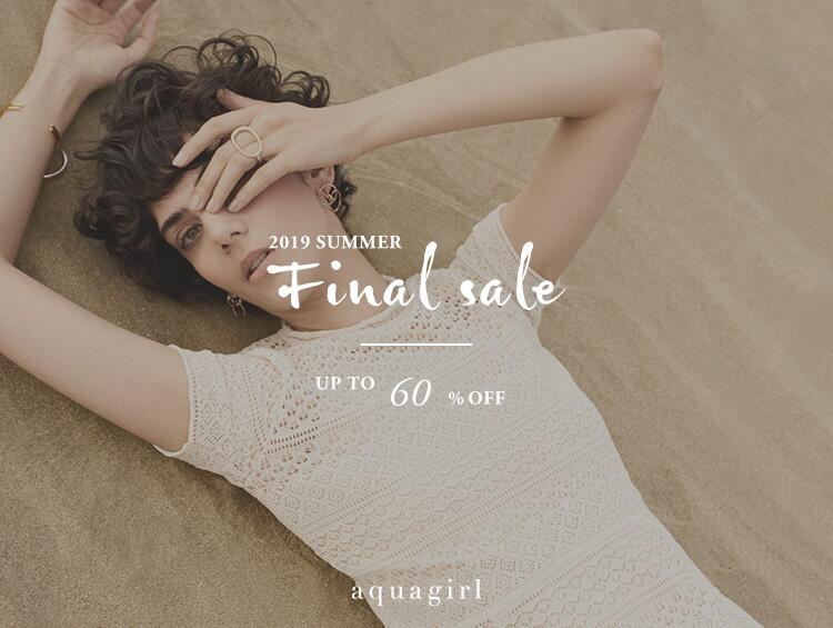 19 SUMMER FINAL SALE [MAX60%OFF] | aquagirl(アクアガール)