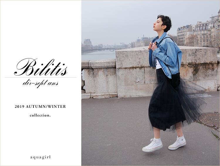 【Bilitis dix-sept ans】2019Autumn/Winter collection | aquagirl(アクアガール)