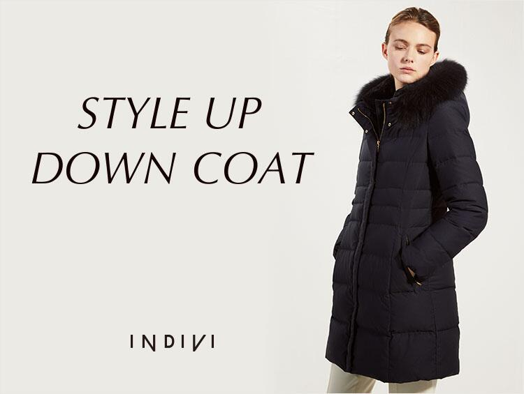 STYLE UP DOWN COAT | INDIVI(インディヴィ)