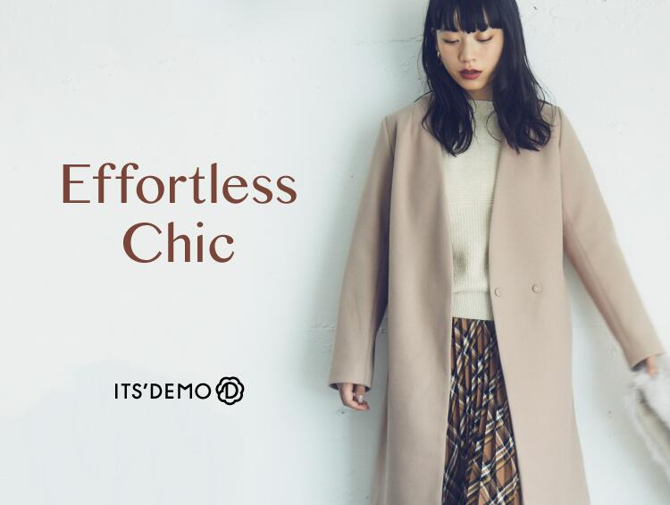 Effortless chic | ITS' DEMO(イッツデモ)