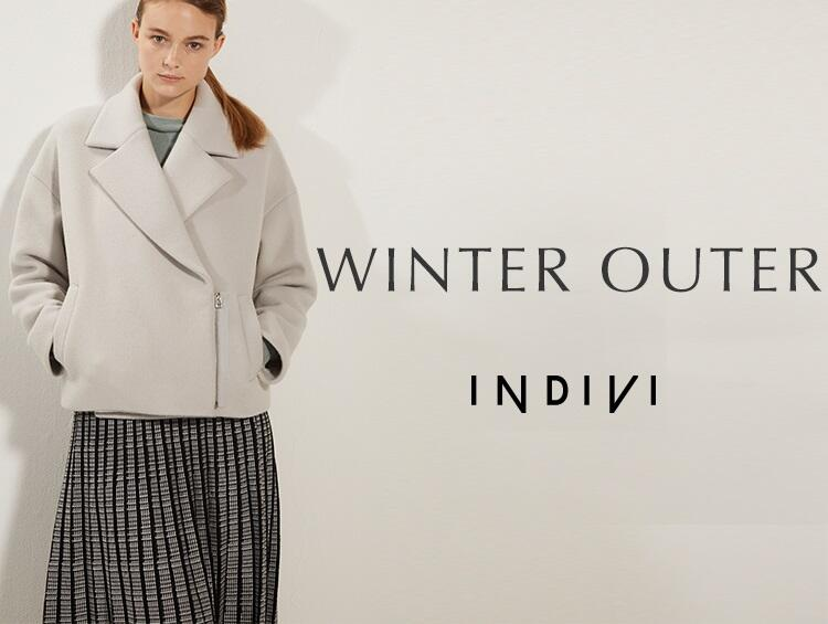 WINTER OUTER | INDIVI(インディヴィ)