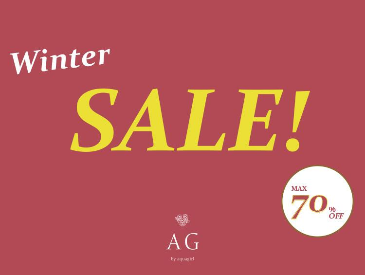 Winter SALE! MAX70%OFF! | AG by aquagirl(エージー バイ アクアガール)