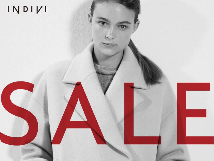 WINTER SALE MAX 50% OFF !! | INDIVI(インディヴィ)