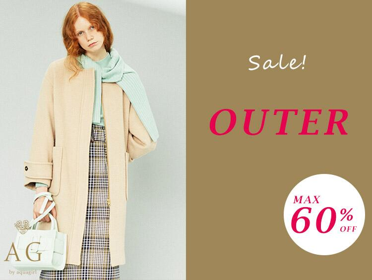 【Sale】OUTER!MAX60%OFF! | AG by aquagirl(エージー バイ アクアガール)