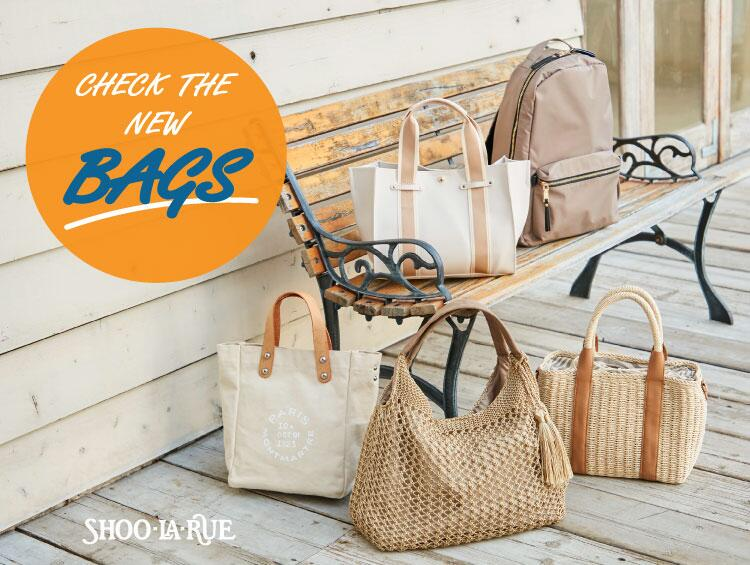 CHECK THE NEW BAGS | SHOO・LA・RUE (シューラルー)