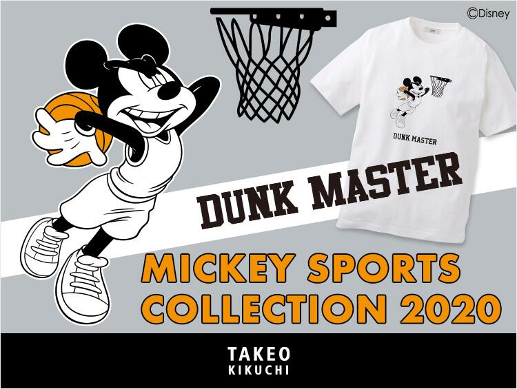 MICKEY SPORTS COLLECTION | TAKEO KIKUCHI(タケオキクチ)