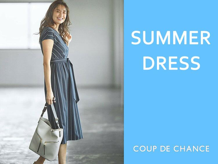 SUMMER DRESS | COUP DE CHANCE (クード シャンス)