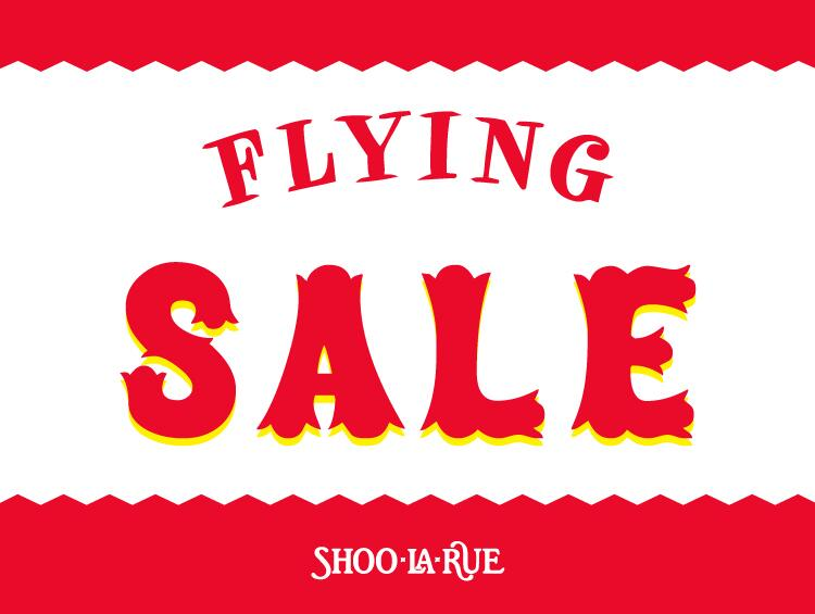 FLYING SALE | SHOO・LA・RUE(シューラルー)