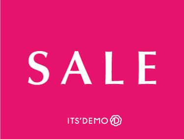 ★SALE★SALE★SALE★ | ITS' DEMO(イッツデモ)