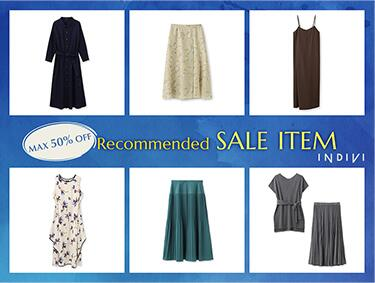 Recommend SALE ITEMS! | INDIVI(インディヴィ)