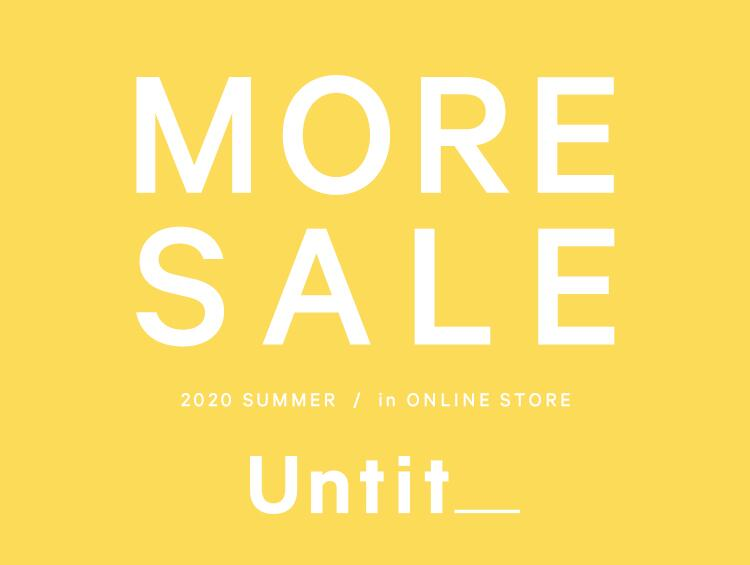 Untit_ MORE SALE | UNTITLED(アンタイトル)
