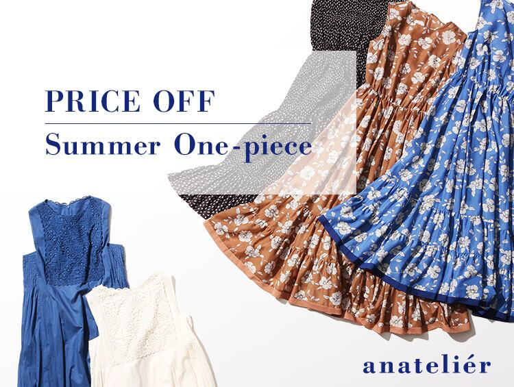 PRICE OFF!! Summer One-piece | anatelier(アナトリエ)