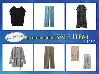 Recommended SALE ITEM | INDIVI(インディヴィ)