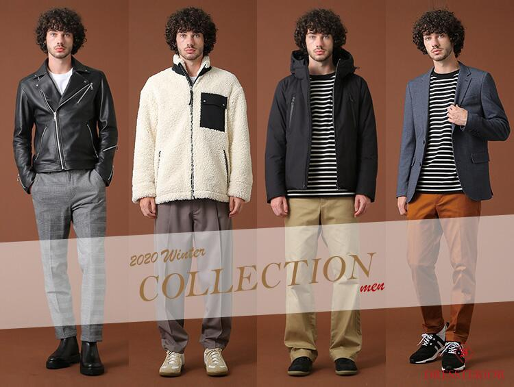 2020 winter collection!-for men- | DRESSTERIOR(ドレステリア)