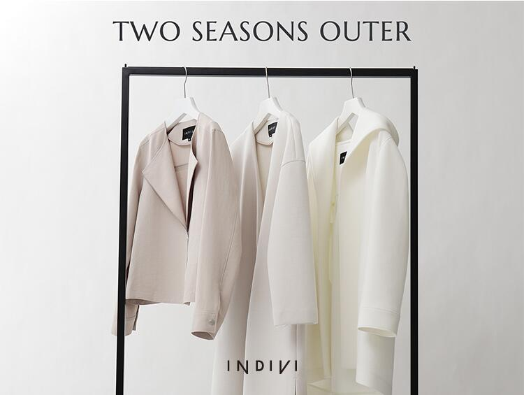 TWO SEASONS OUTER | INDIVI(インディヴィ)