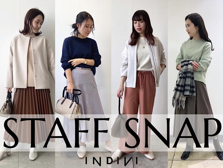 new styling STAFF SNAP | INDIVI(インディヴィ)