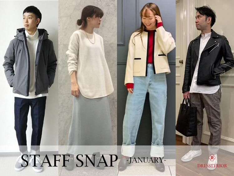 STAFFSNAP!-JANUARY- | DRESSTERIOR(ドレステリア)