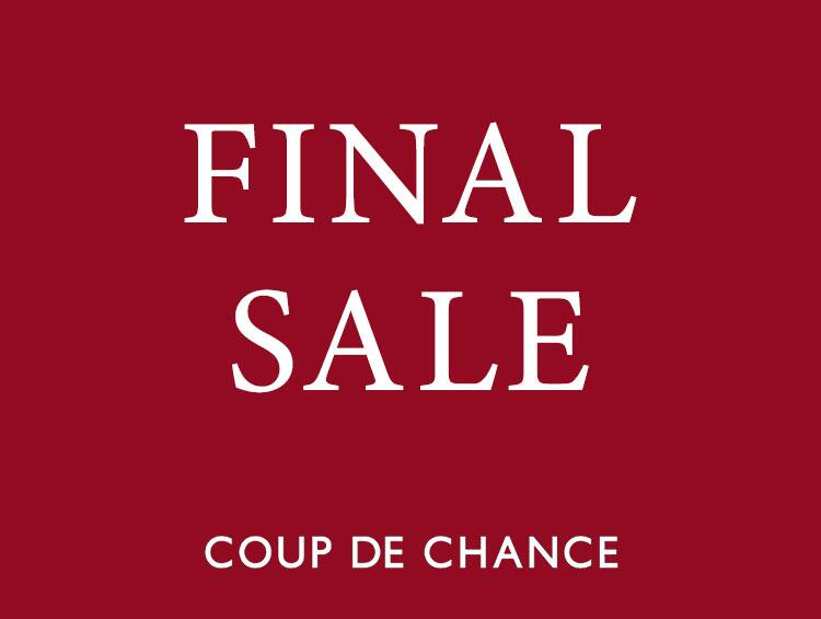 FINAL SALE!!! | COUP DE CHANCE(クードシャンス)