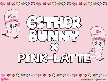 ESTHER BUNNY | PINK-latte(ピンクラテ)