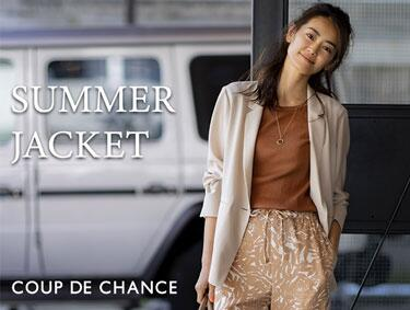 SUMMER JACKET Collection♪ | COUP DE CHANCE(クードシャンス)