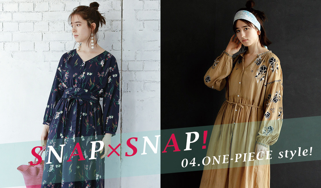 SNAP x SNAP 04.ONE-PIECE style!