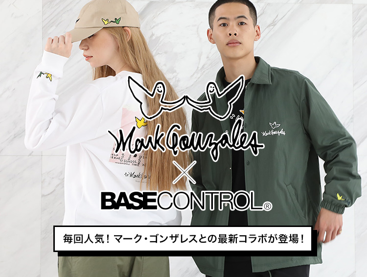 Mark Gonzales×BASECONTROL