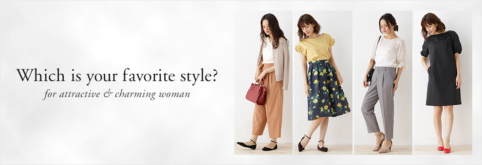 Which is your favorite style for attractive & charming woman