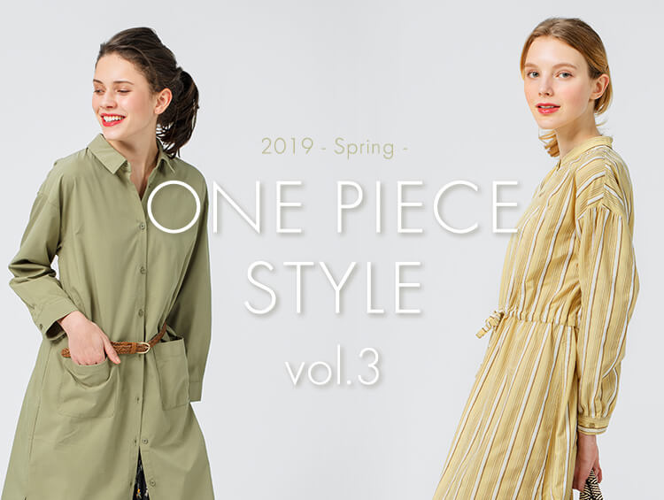 2019-spring- ONE PIECE STYLE