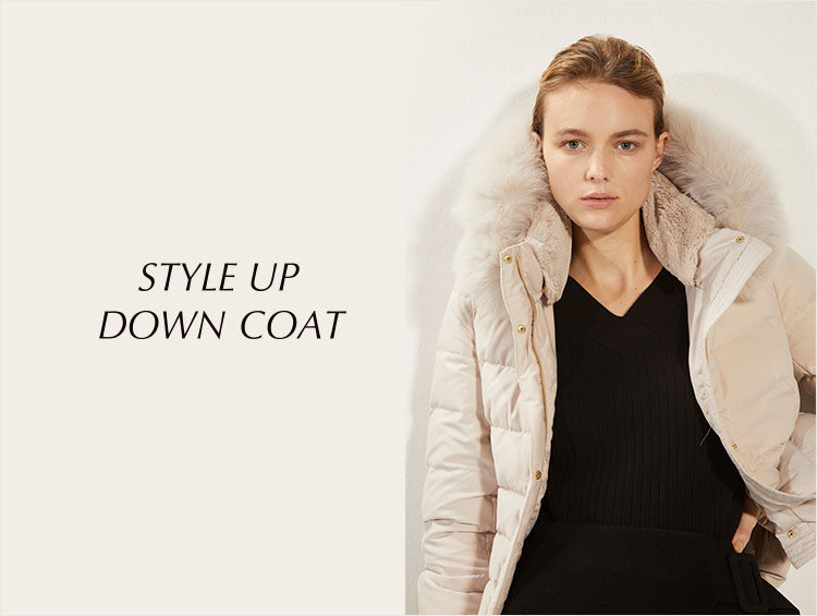 STYLE UP DOWN COAT