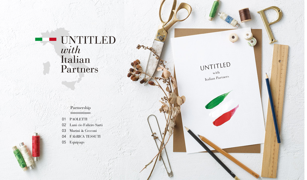 UNTITLED with Italian Partners