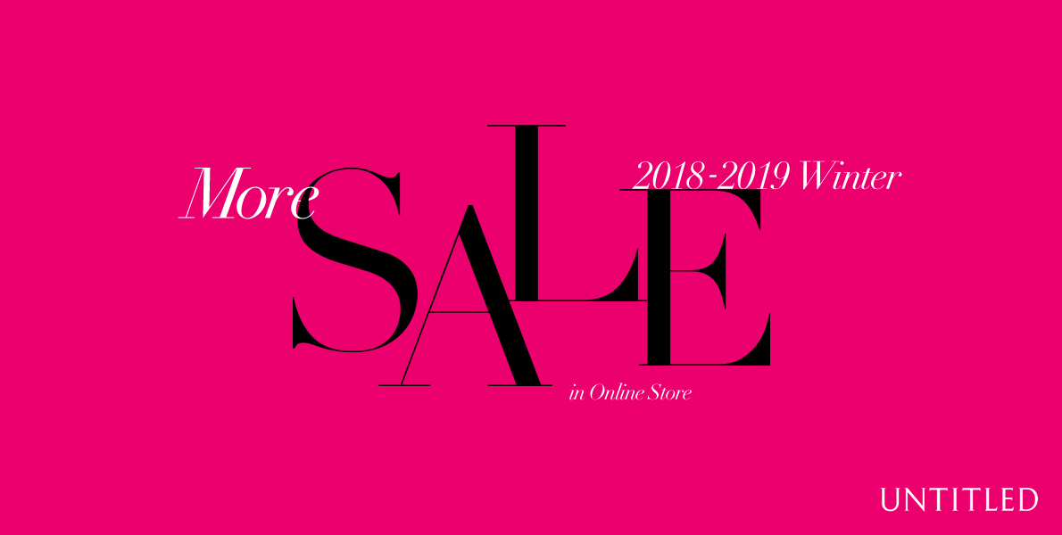 2018-2019 Winter More SALE